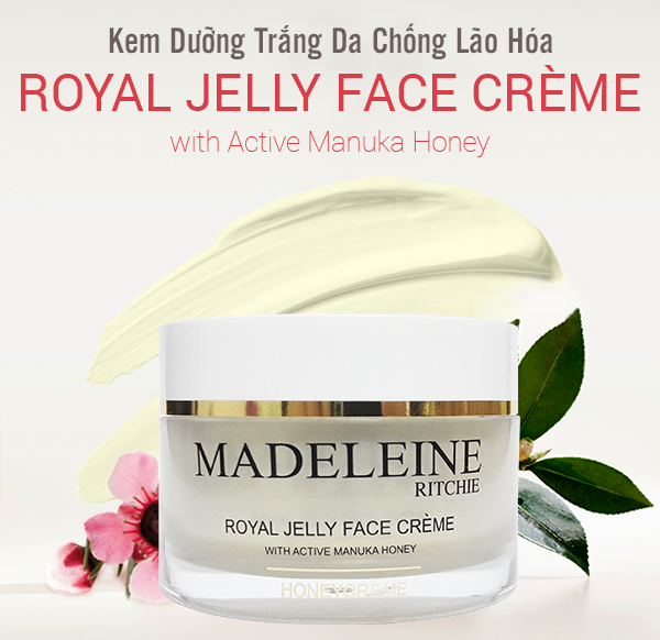 Madeleine Ritchie Royal Jelly Face Creme