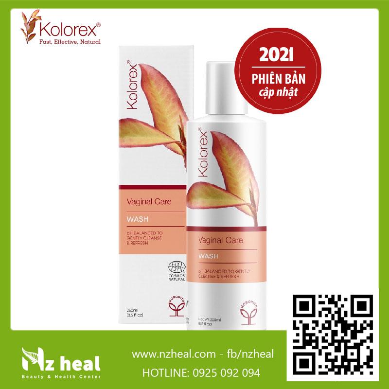 Gel vệ sinh vùng kín Kolorex Vaginal Care Wash 2