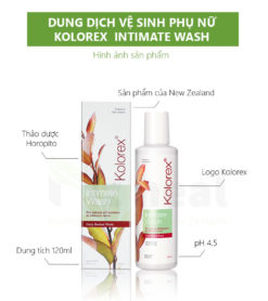 Dung Dịch Vệ Sinh Phụ Nữ Kolorex Intimate Wash 1