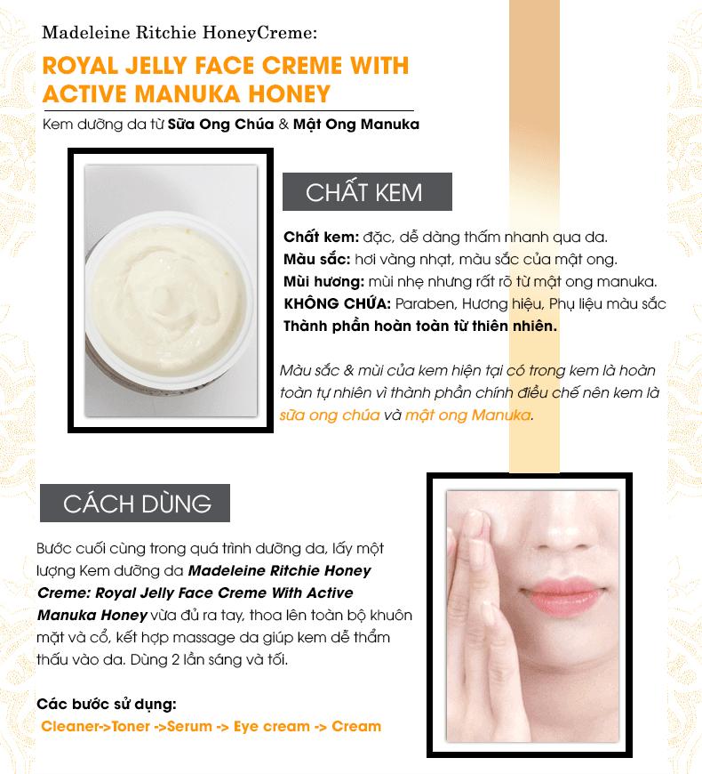Kem Dưỡng Sữa Ong Chúa Royal Jelly Face Creme