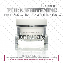 Kem dưỡng da Pure Whitening Creme with Active Manuka Honey
