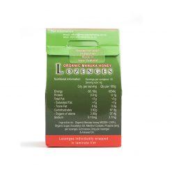 Kẹo Ngậm Ho, Đau Họng Organic Manuka Honey Lozenges MG250+ (6v)