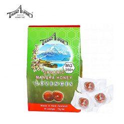 Kẹo Ngậm Trị Ho, Đau Họng Organic Manuka Honey Lozenges MG250+ (6 Viên)