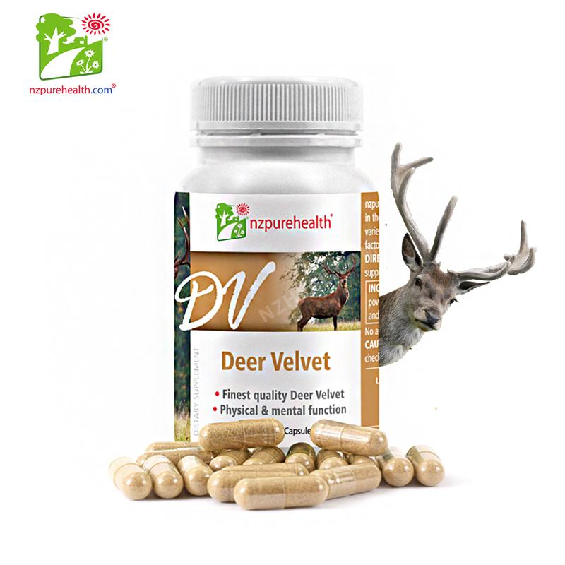 Viên Uống Nhung Hươu Tươi Deer Velvet NzPurehealth (30 viên)