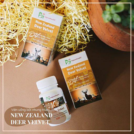 Viên Uống Nhung Hươu New Zealand Deer Velvet NzPurehealth 3