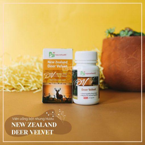 Công dụng của Nhung hươu NzPurehealth Deer Velvet