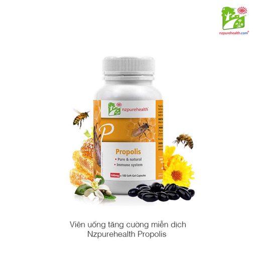 Viên Uống Keo Ong Tăng Đề Kháng Nzpurehealth 100 Viên - Nzheal.com 2