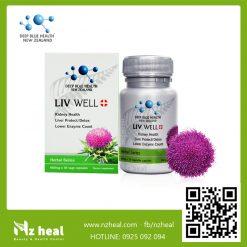 Viên Uống Giải Độc Gan Liv Well Deep Blue Health