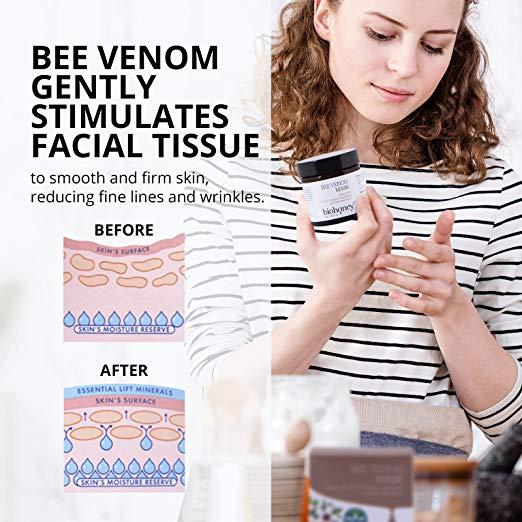 hiệu quả của mặt nạ nọc ong Bee Venom Mask - biohoney