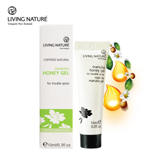 Gel trị mụn Manuka Honey Living Nature