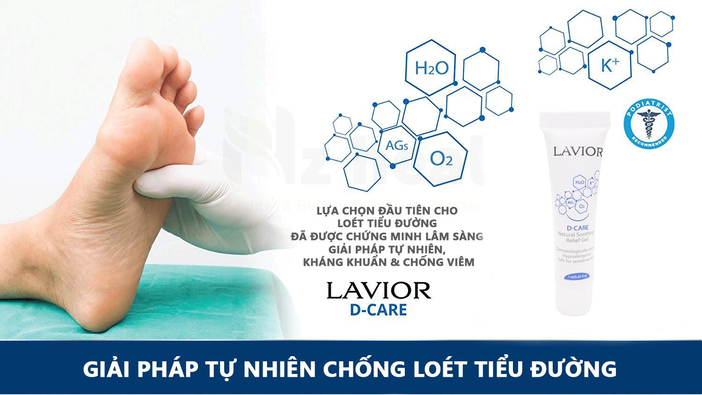 Gel chống loét tiểu đường Lavior D-care 7ml
