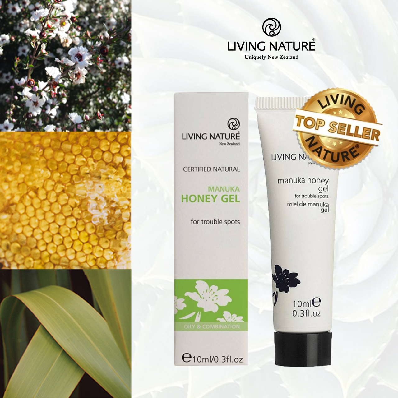 Gel trị mụn Manuka Honey 10ml