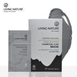Mặt nạ đất sét than hoạt tính Living Nature Charcoal Clay Mask