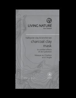 Mặt nạ đất sét than hoạt tính Living Nature Charcoal Clay Mask - Nzheal