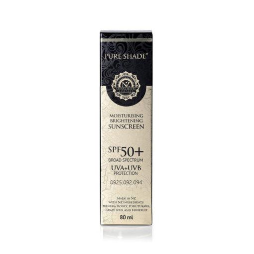 Kem chống nắng 4 in 1 Pure Shade SPF 50+ Moisturising & Sunscreen 80ml - Nz Sunscreen