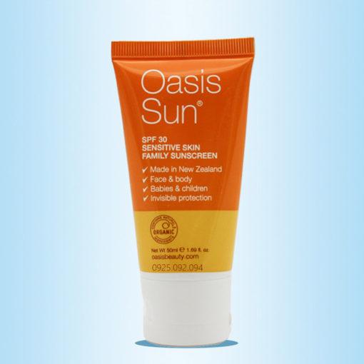 Kem chống nắng Oasis Sun SPF 30 Family Sunscreen 50ml - 3