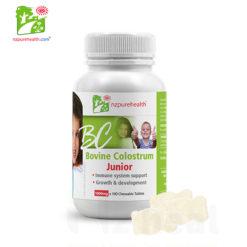 Kẹo Sữa Non Bovine Colostrum Junior Nzpurehealth 60 viên