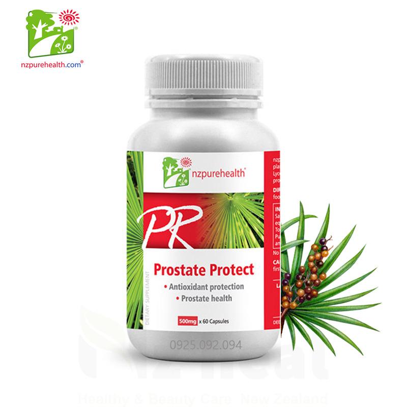 Viên uống hỗ trợ tuyến tiền liệt Nzpurehealth Prostate Protect