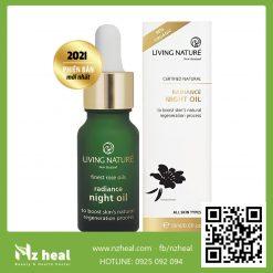 Dầu dưỡng sáng da ban đêm Living Nature Radiance Night Oil 18ml