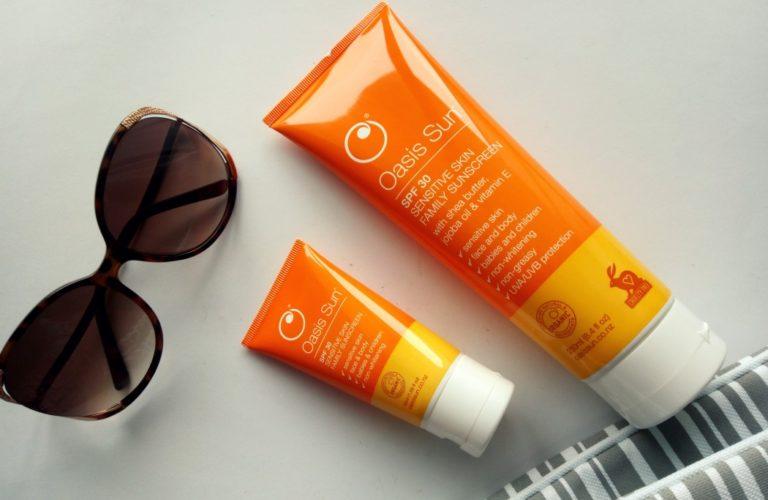 Kem chống nắng Oasis Sun SPF 30 phù hợp với da nhạy cảm 1