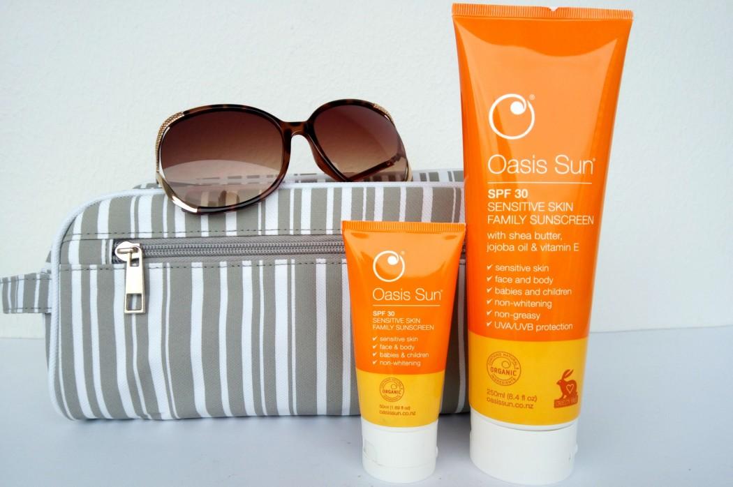 Kem chống nắng Oasis Sun SPF 30 phù hợp với da nhạy cảm