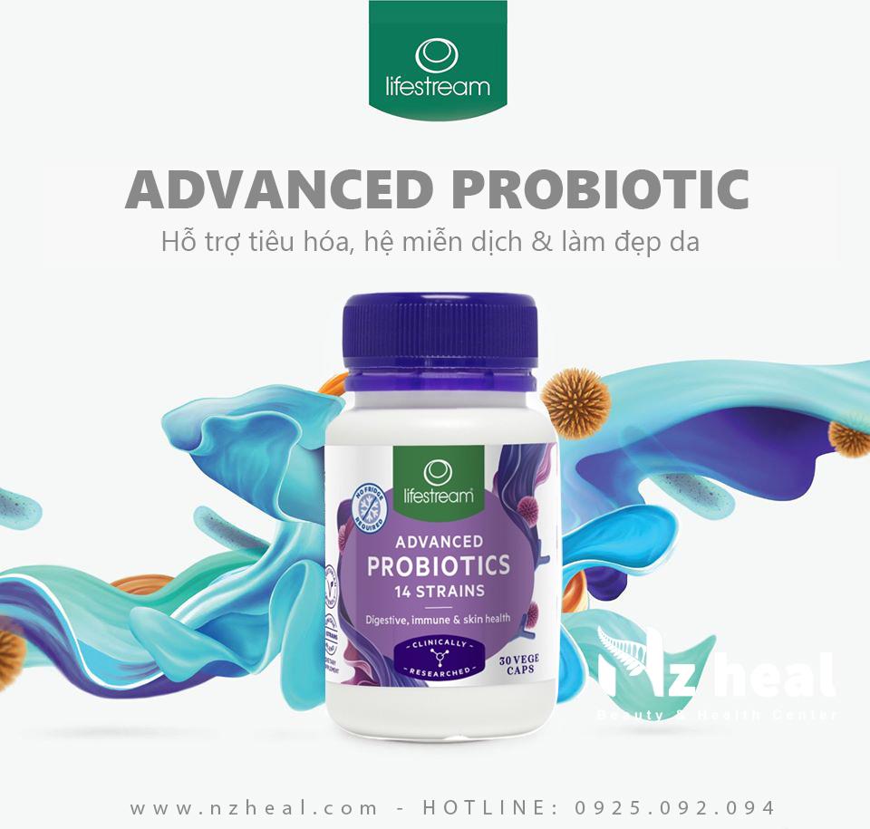 Viên uống men vi sinh Lifestream Advanced Probiotic 30 viên 7