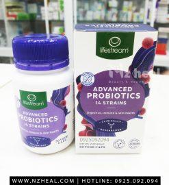 Viên uống men vi sinh Lifestream Advanced Probiotic hỗ trợ tiêu hóa 5