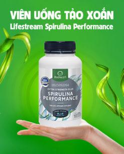 Viên uống tảo xoắn Spirulina Lifestream Spirulina Performance 1