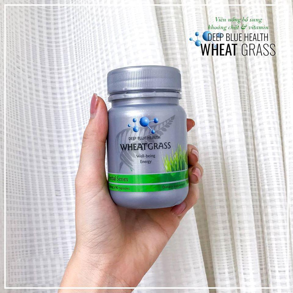 Viên uống bổ sung khoáng chất Deep Blue Health Wheat Grass 1