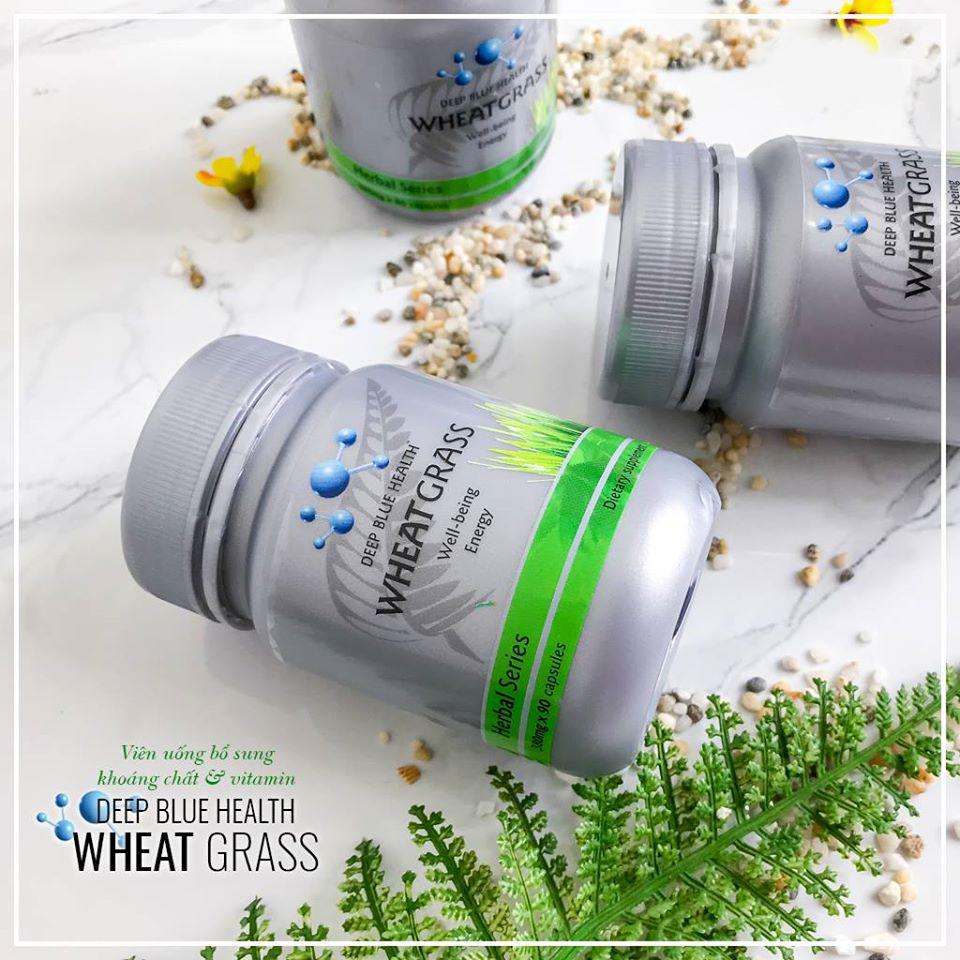 Viên uống bổ sung khoáng chất Deep Blue Health Wheat Grass