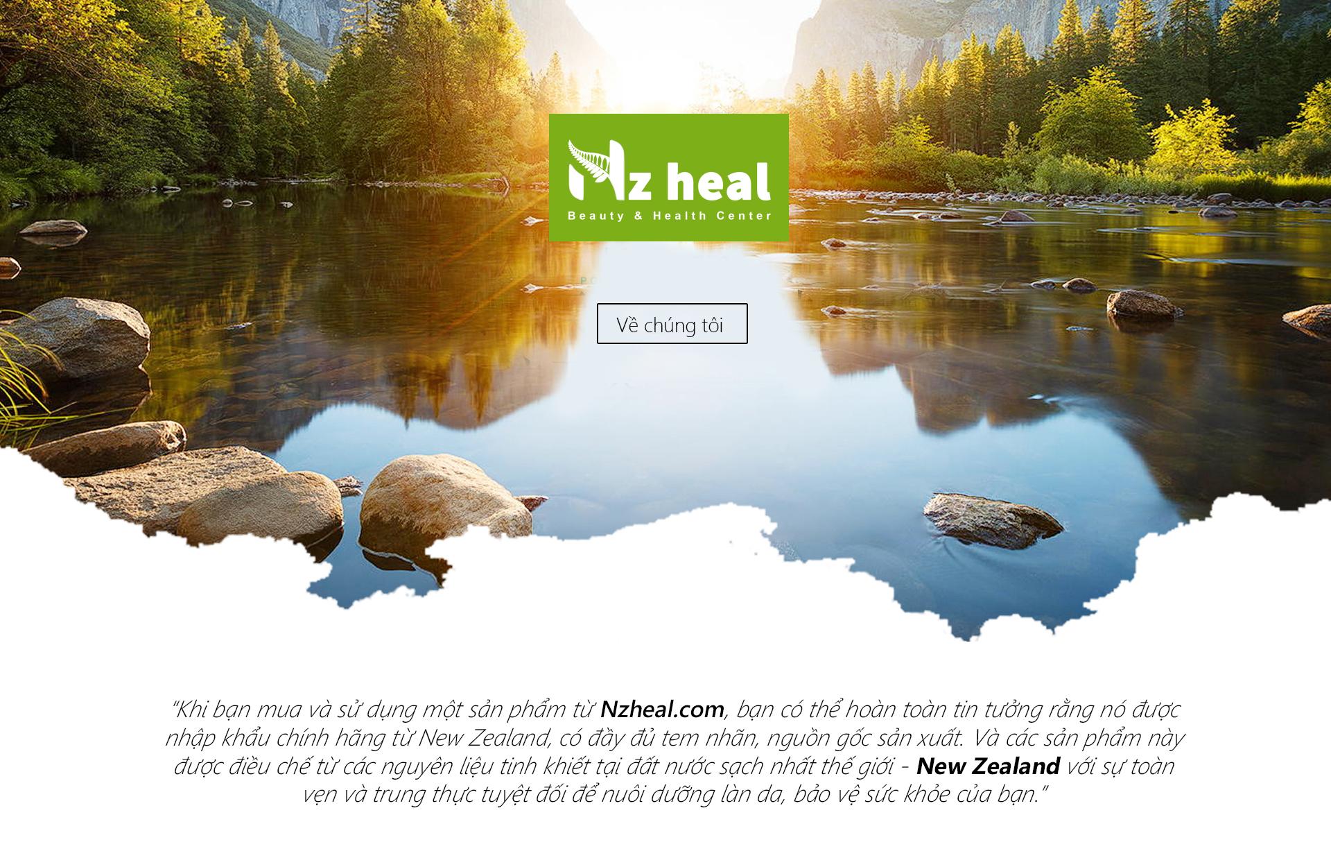 Nzheal - Chăm có sức khoe rvaf sức đẹp từ sản phẩm New Zealand