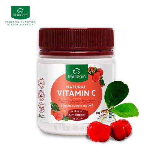 Bột uống Vitamin C Lifestream Natural Vitamin C 5