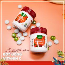 Bột uống Vitamin C Lifestream Natural Vitamin C 60g 7