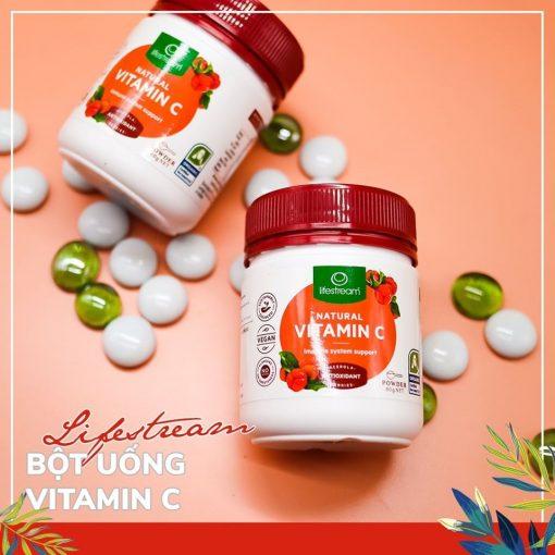Bột uống Vitamin C Lifestream Natural Vitamin C