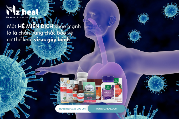 Tăng Sức Đề Kháng - việc cần làm ngay trong mùa dịch, phòng ngừa virus