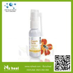 Xịt họng keo ong Deep Blue Health Propolis Spray