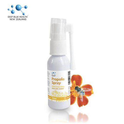 Xịt họng keo ong Propolis Spray 30ml - Deep Blue Health