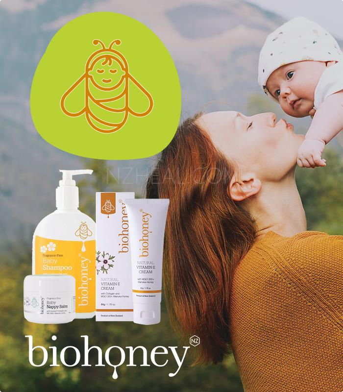 Kem Biohoney Baby Nappy Balm điều trị chàm sữa, viêm da, hăm tã, dị ứng,...