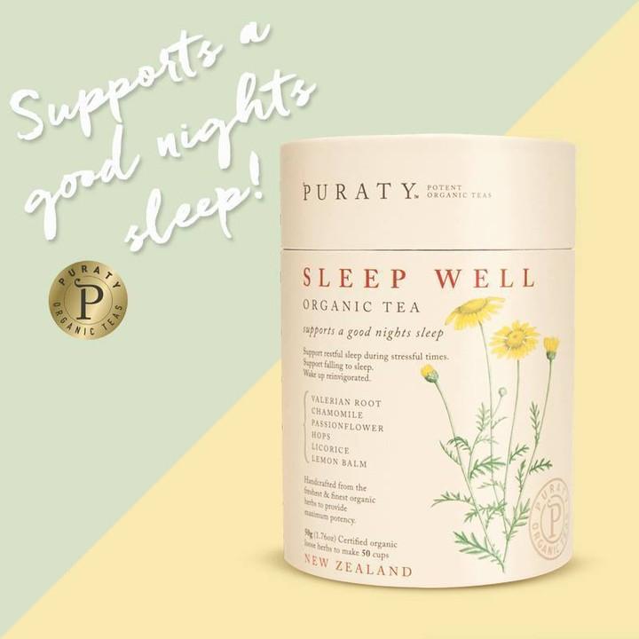 Trà ngủ ngon hữu cơ Sleep Well Tea Organic 50g