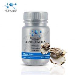 Viên Uống Kẽm Deep Blue Health Zinc Complex: tăng đề kháng, trị mụn (60 viên)