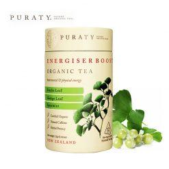 Trà hữu cơ tăng năng lượng Energiser Boost Organic Tea 12g - Puraty NZ 1