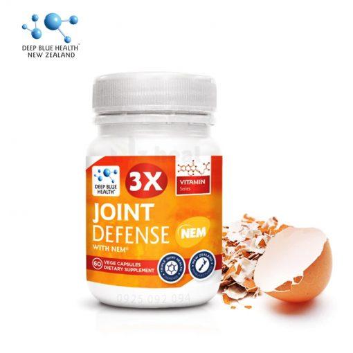 Viên uống bổ khớp, trị đau nhức xương Deep Blue Health 3x Joint Defense with NEM®