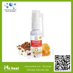 Xịt họng keo ong Deep Blue Health Propolis Spray Plus (BIF 40+) 30ml