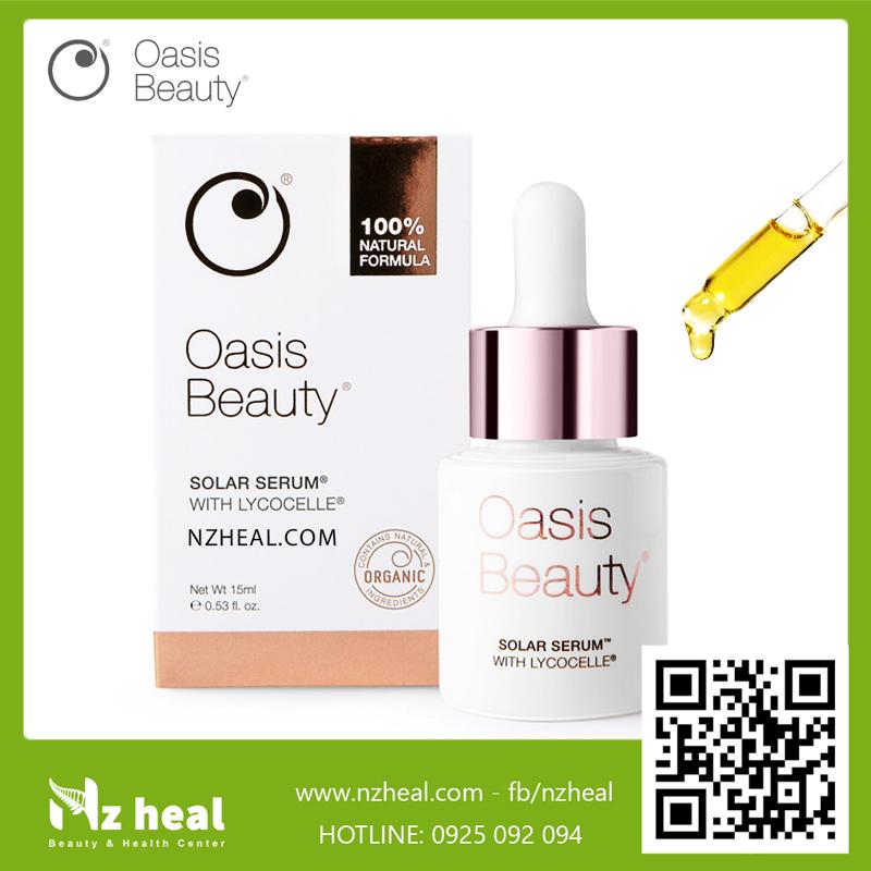 Serum dưỡng sáng da Oasis Beauty Solar Serum