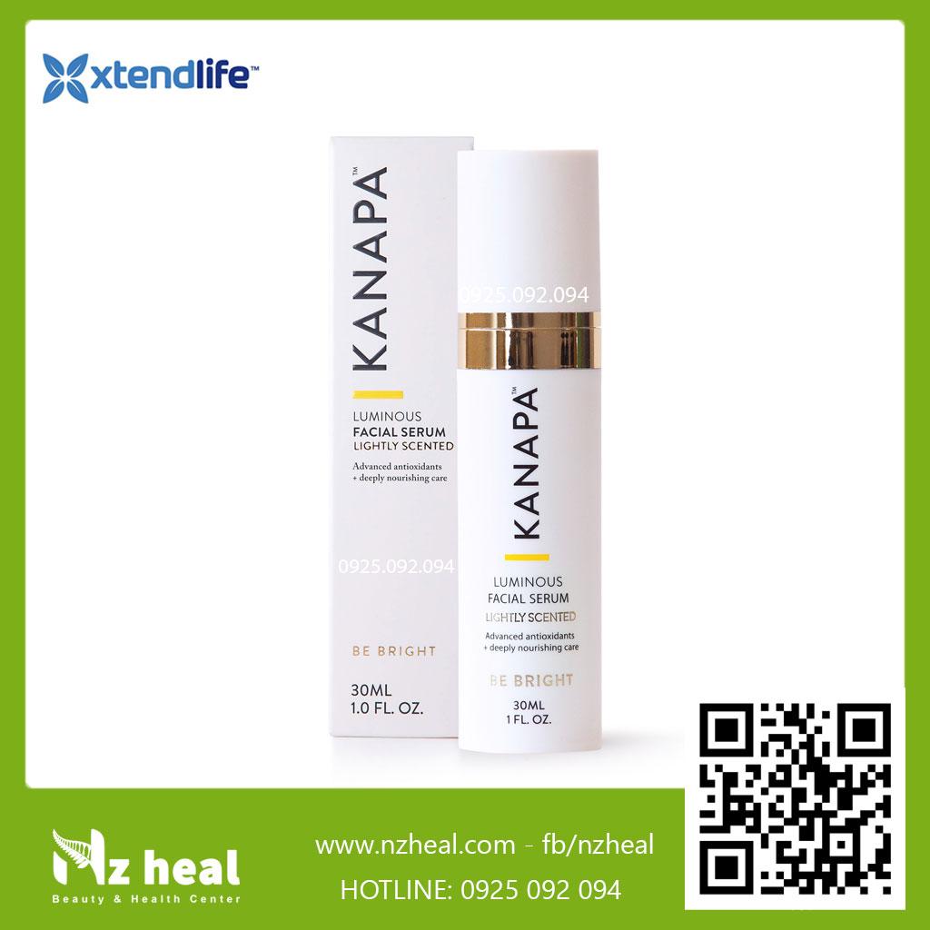 Serum dưỡng sáng da Kanapa Luminous Facial Serum Xtend-Life (30ml)