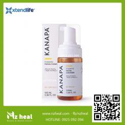 Sữa rửa mặt tạo bọt Kanapa Foaming Facial Cleanser Xtend-Life (100ml)