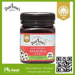 Mật ong Manuka MG550+ Organic Manuka Honey TranzAlpine (250g)